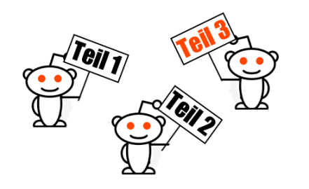 Reddit Teil 3 über Marketing